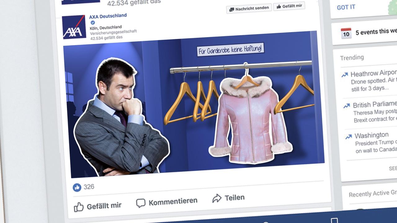 Axa Deutschland posting