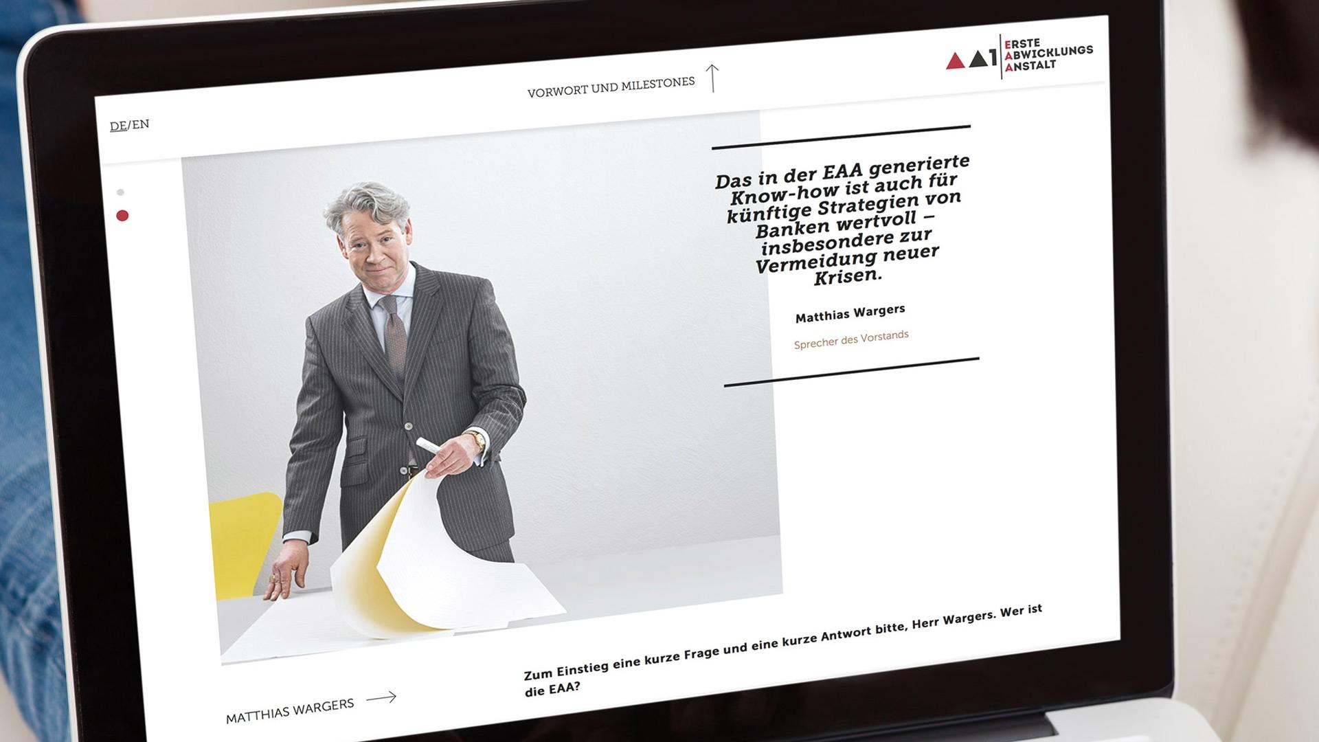 EAA Website Vorwort
