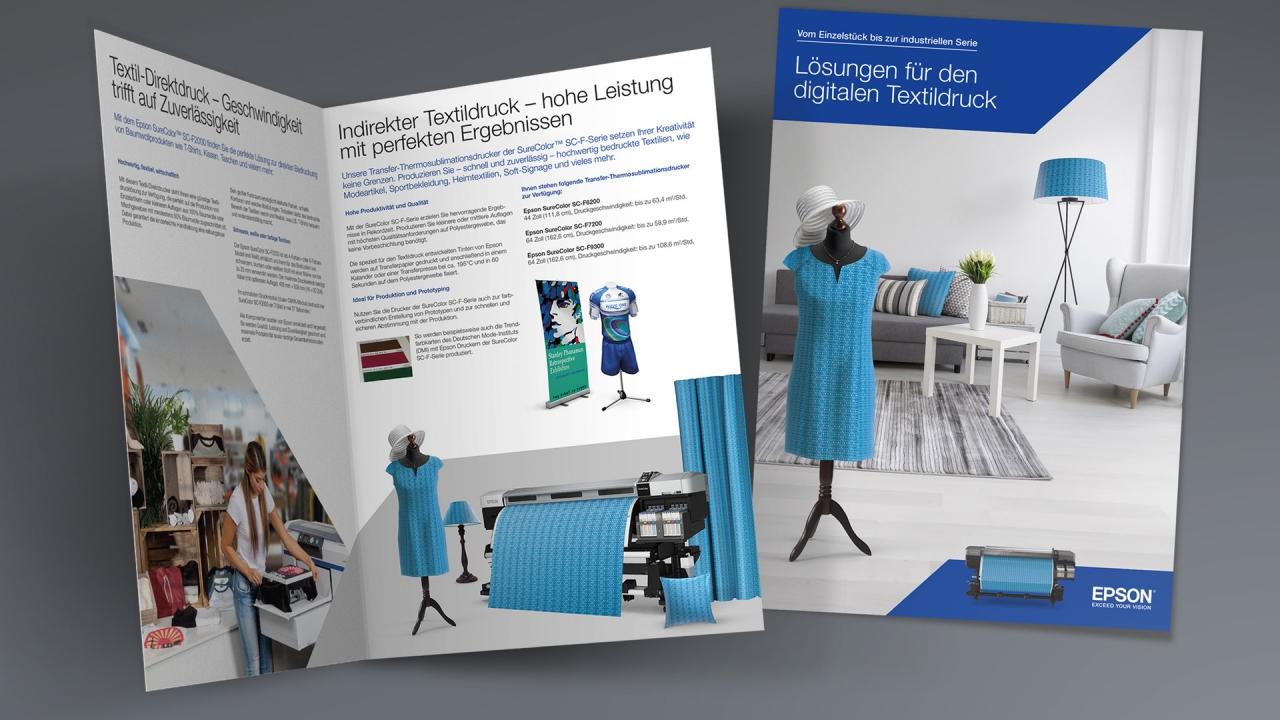 Epson digitaler Textildruck