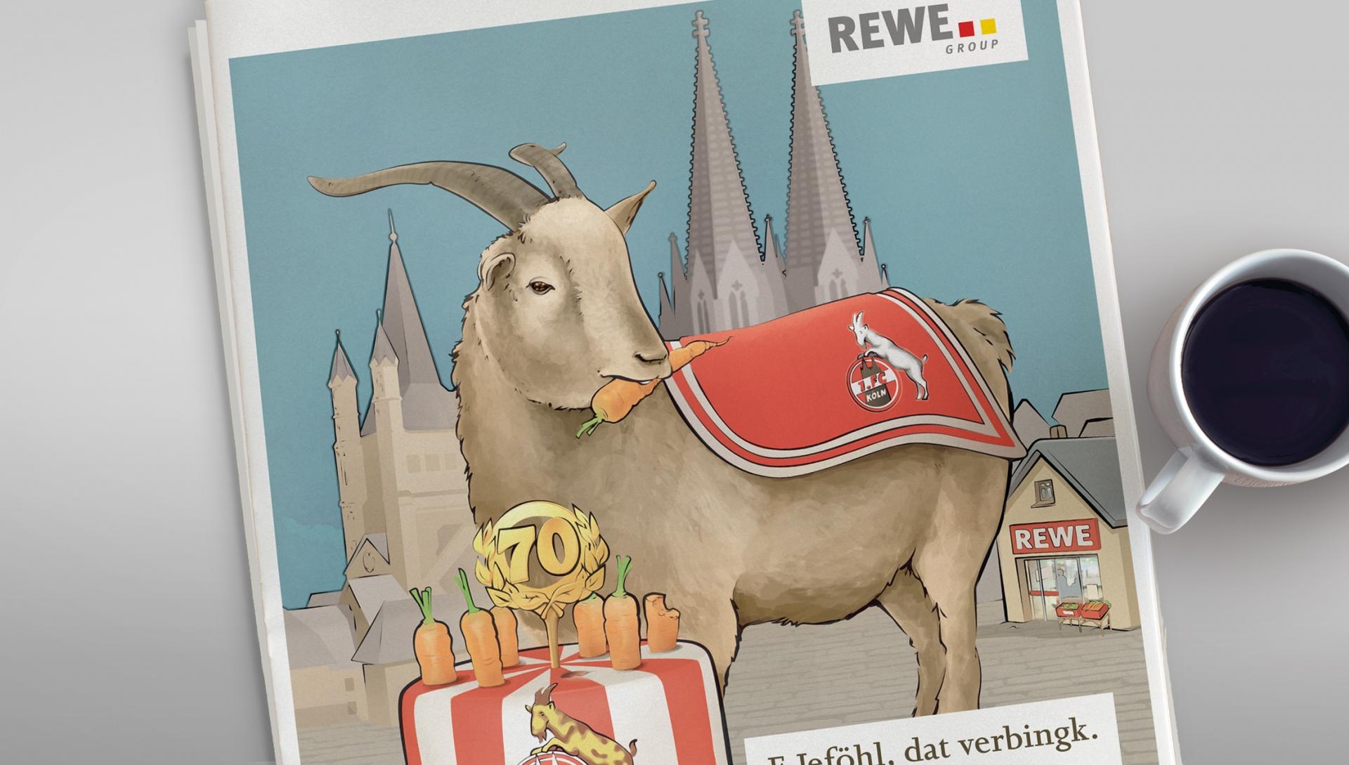 REWE Ad 1. FC Köln