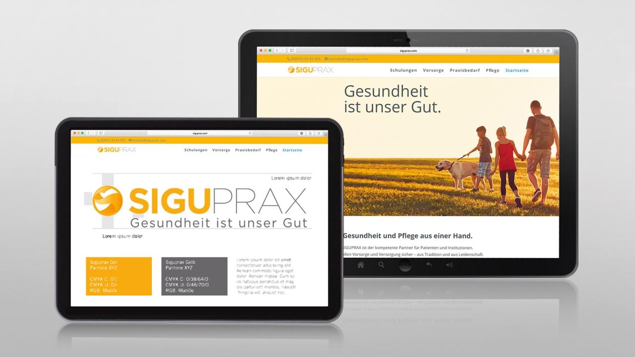 SiguPrax Website Logo