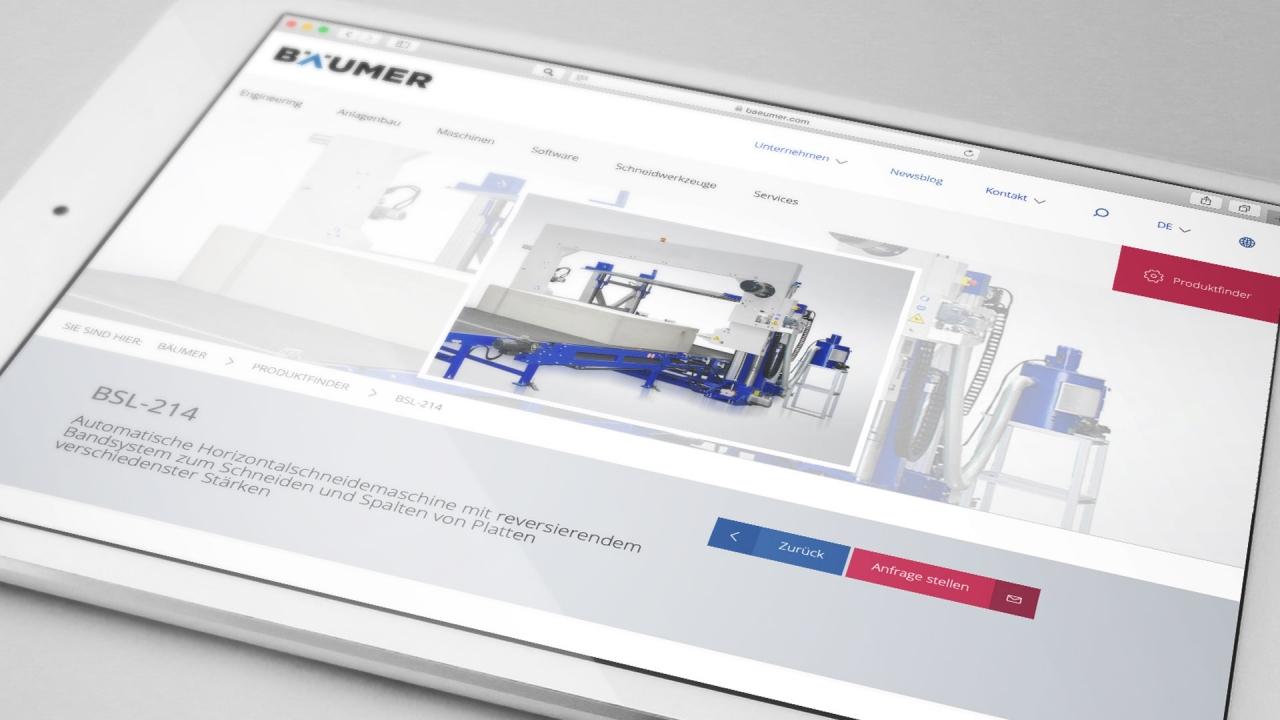 Bäumer Website 2019