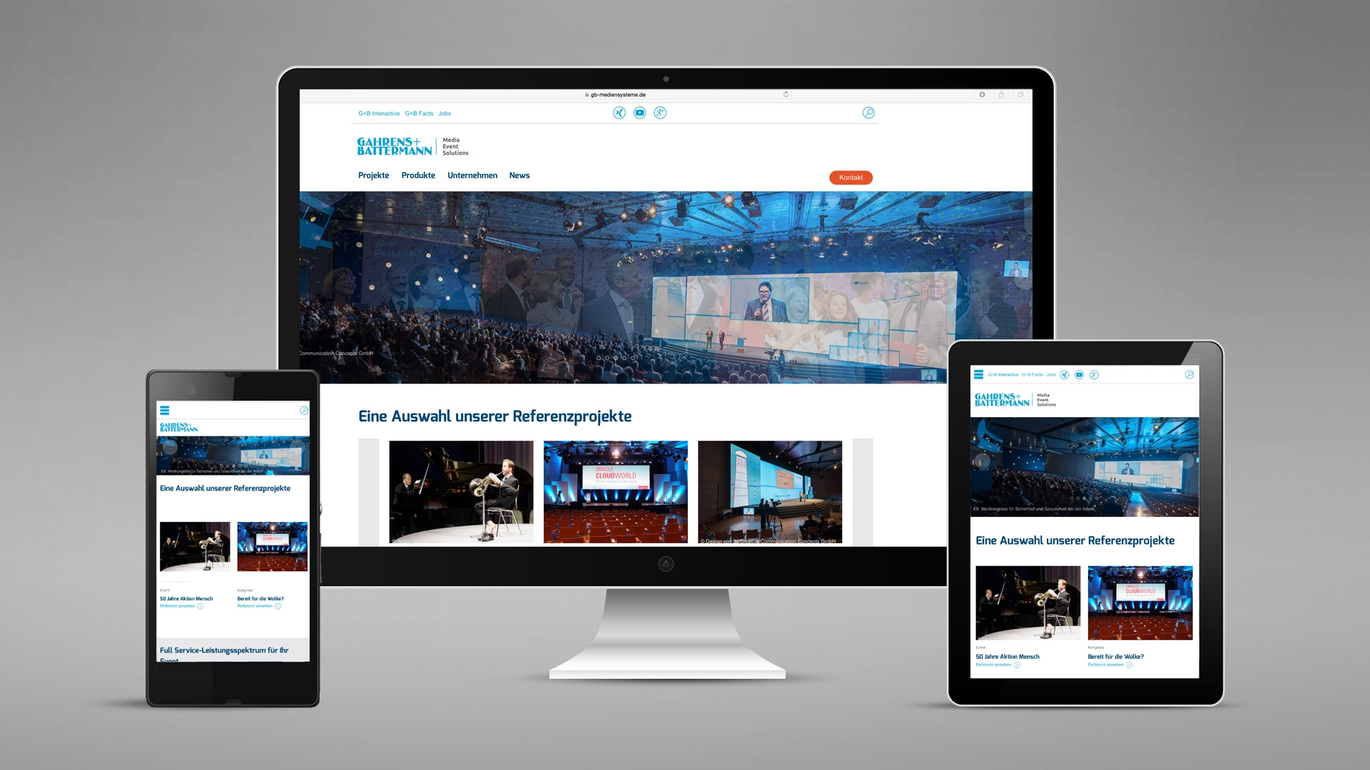 Gahrens & Battermann Website
