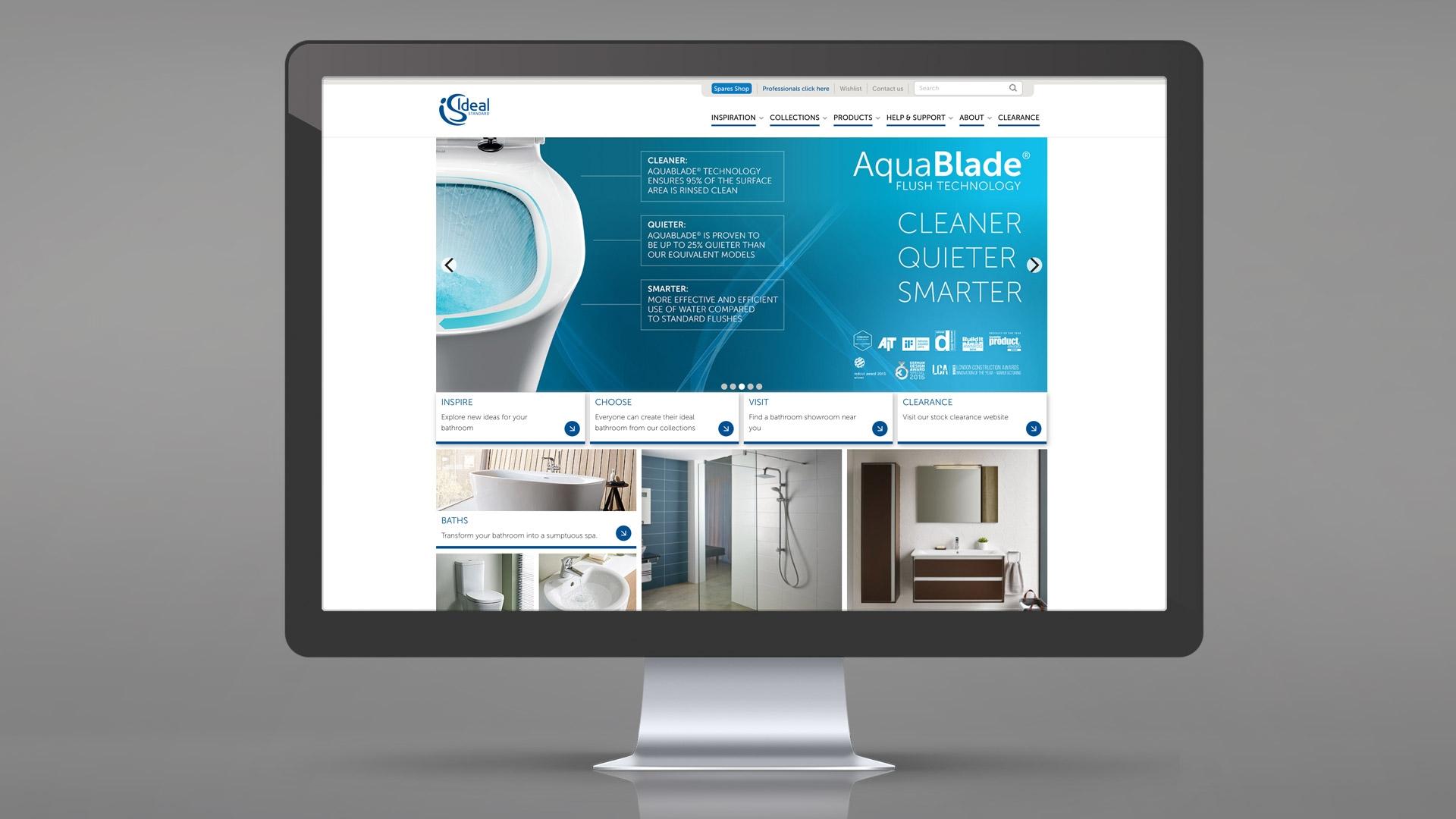 Ideal Standard UK Website