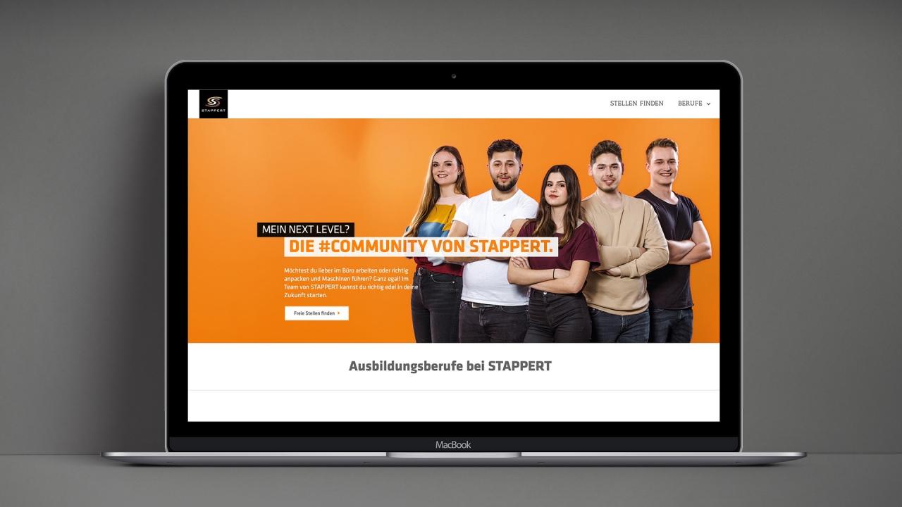 STAPPERT Ausbildung Website