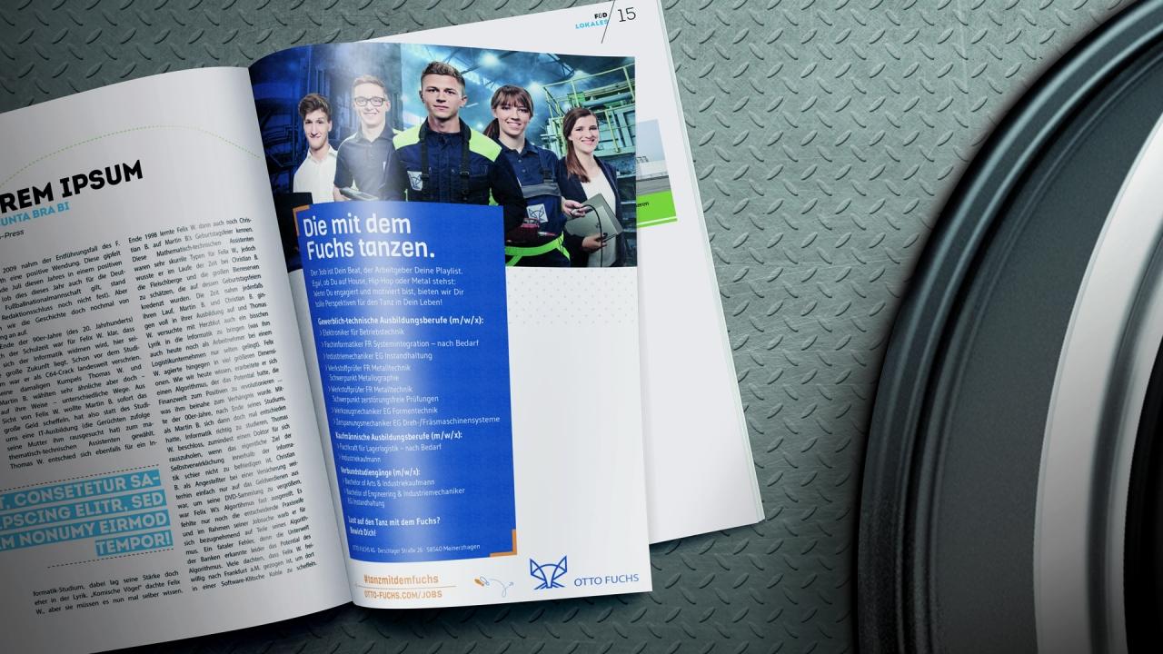 Otto Fuchs – HR Campaign, Brochure