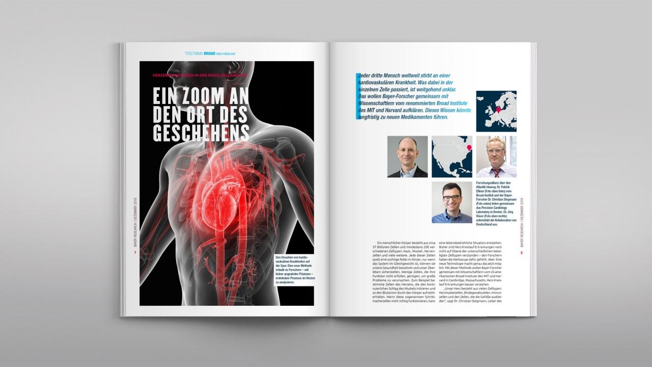 Bayer Forschungsmagazin Research