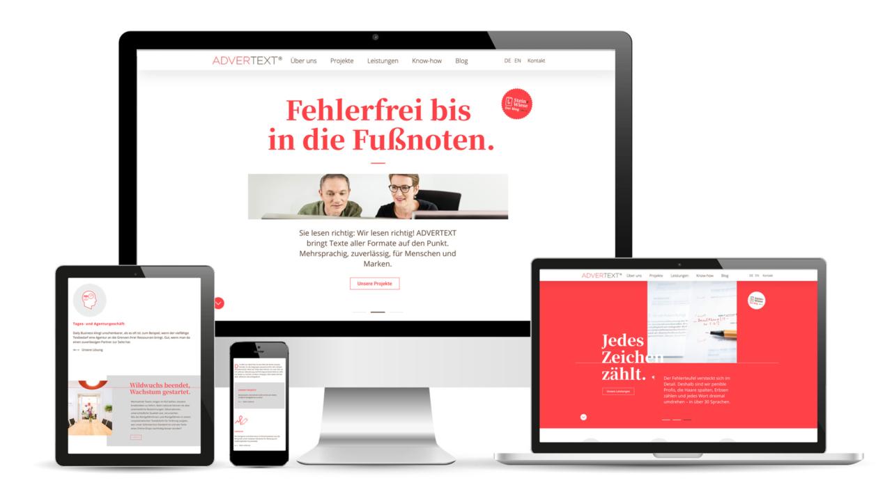 Advertext - Rebranding & Website Relaunch