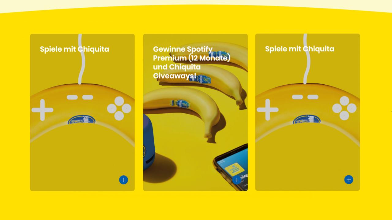 Chiquita - Back2school promotion