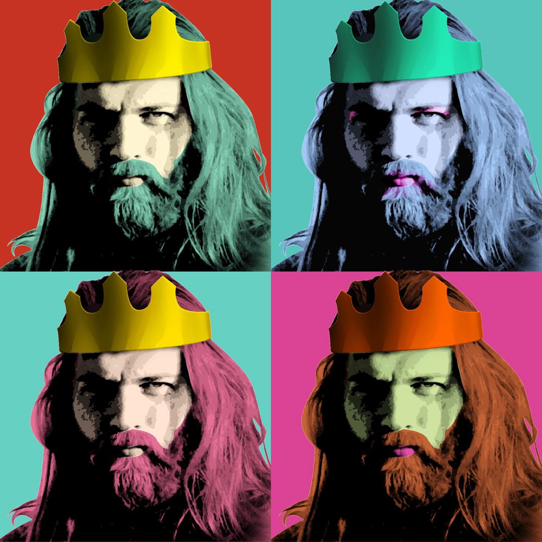"Andy Warhol adaptation ""4 x Wassermann"" / Andy Warhol adaptation ""4 x merman"""